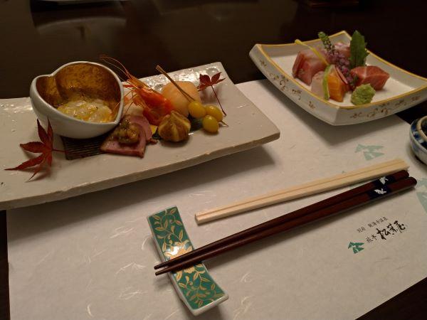 松葉屋の夕飯