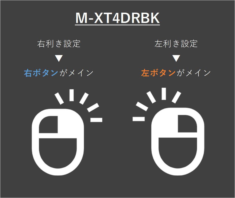 M-XT4DRBKのマウス設定